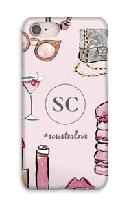 The Girly Girl by Style Collective  skal IPhone 8