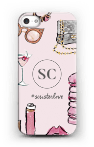 The Girly Girl by Style Collective kuoret IPhone 5/5S