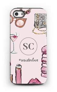 The Girly Girl by Style Collective  skal IPhone 5/5s tough