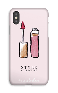 Style Collective  hoesje IPhone X