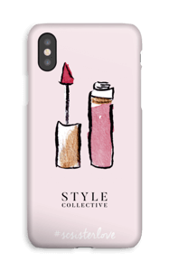 The Confidence Booster by Style Collective  deksel IPhone XS