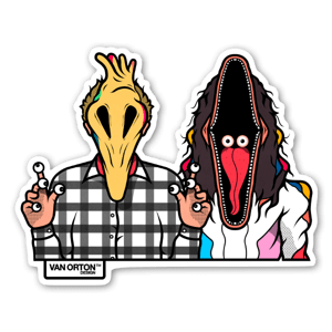 Adam & Barbara sticker