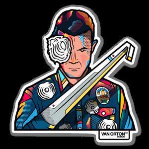 T-1000 sticker
