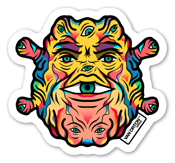 The guardian sticker