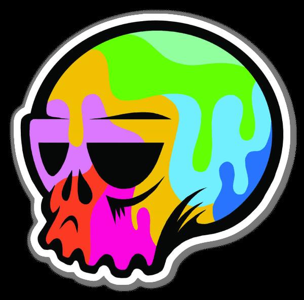 Pop Art Skull tarra