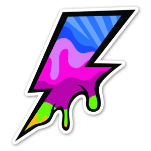 Pop Blitz sticker