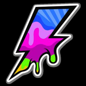 Pop Bolt sticker