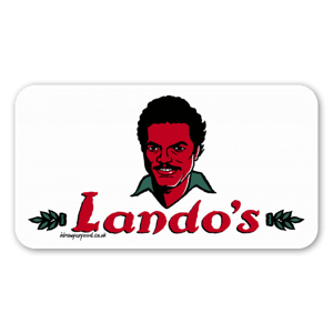 Lando's Chicken sticker