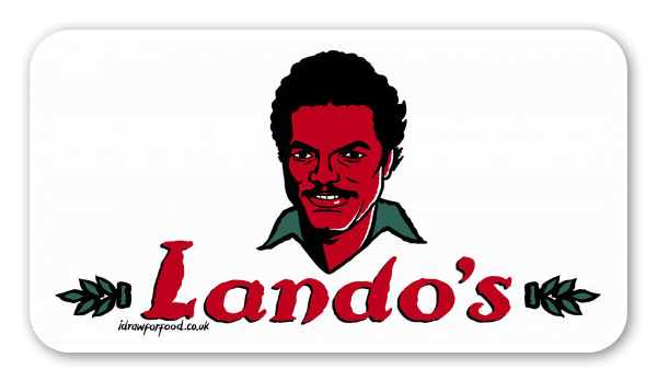 Lando's Chicken pegatina