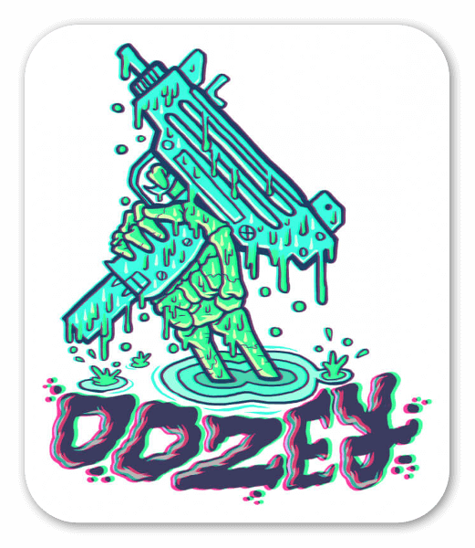 Uzi sticker