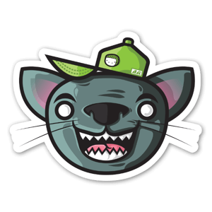 Feline Goodness sticker