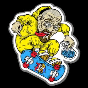 Walter White Skate sticker