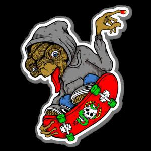 ET Skates sticker