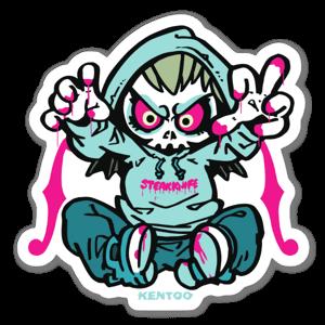 SKULL M sticker