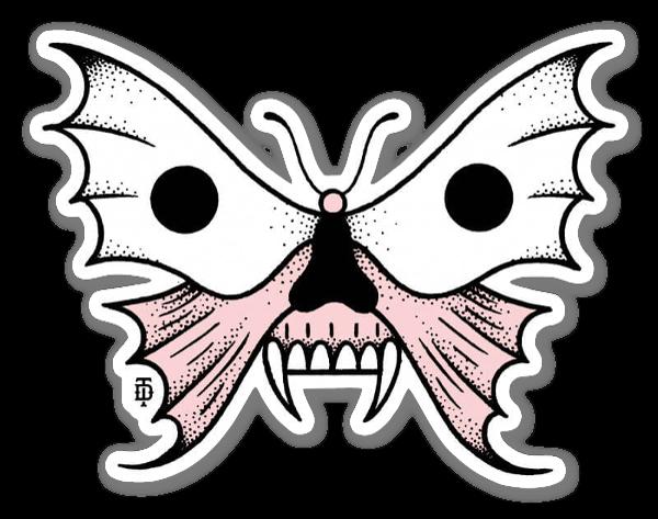 Death Butterfly sticker