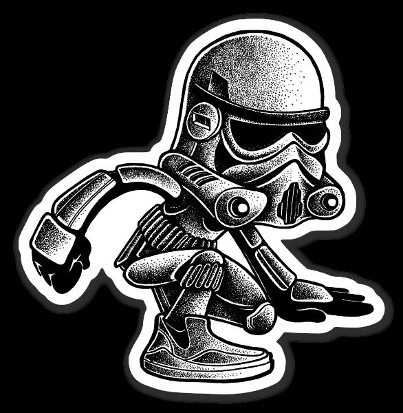 Trooper  sticker