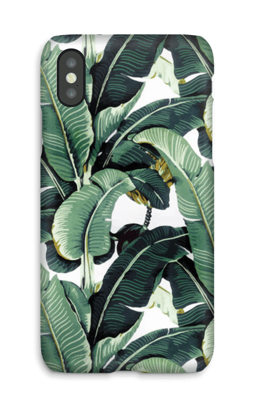 Banana Leaf case IPhone X