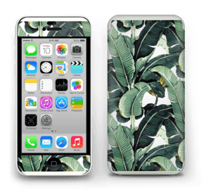 Leaf laptop skin.