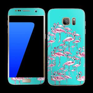 Flamants Roses Skin Galaxy S7