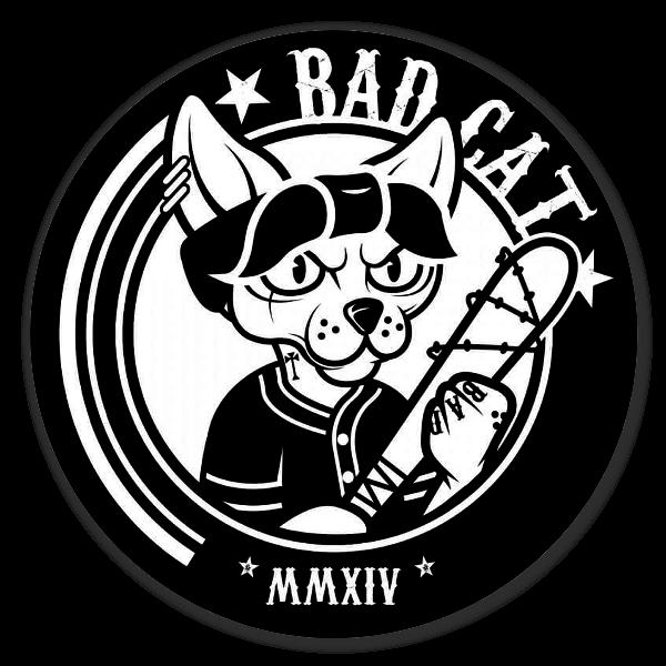 Bad Cat pegatina