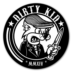 Dirty Kid sticker