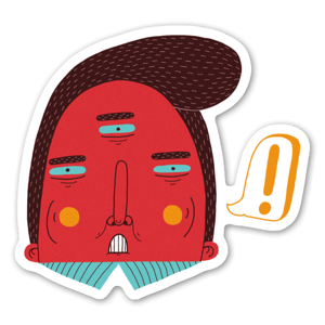 Man ! sticker