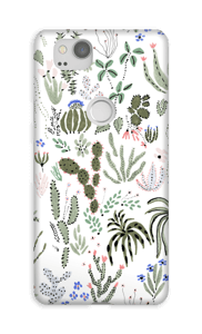 Cactus garden cover Pixel 2