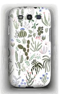 Kaktus kuoret Galaxy S3