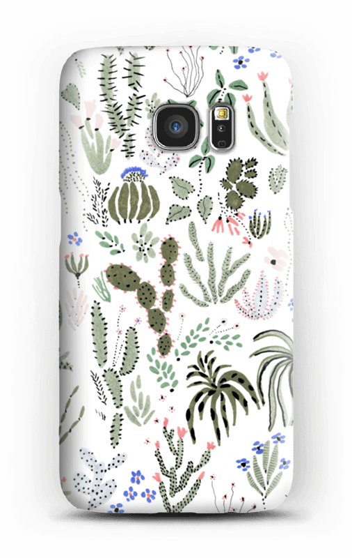 Kaktus kuoret Galaxy S7