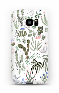 Cactus Tuin  hoesje Galaxy S7 Edge
