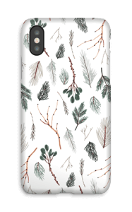 Branches de pin Coque  IPhone X