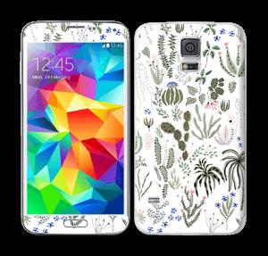 Cactus Garden Skin Galaxy S5