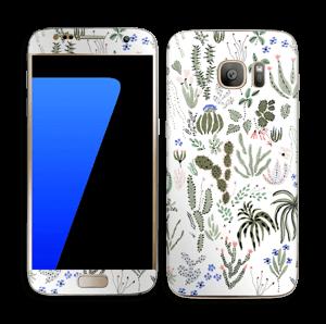 Cactus Garden Skin Galaxy S7