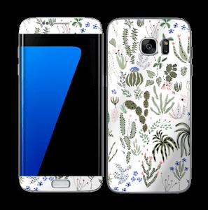 Cactus Garden Skin Galaxy S7 Edge