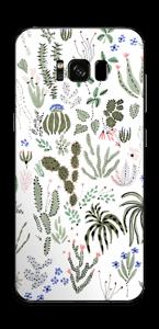 Jardin Cactus Skin Galaxy S8 Plus