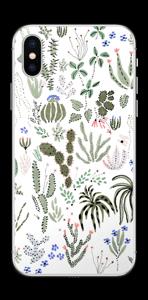 Cactus Garden Skin IPhone XS
