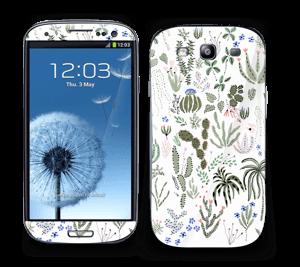 Cactus Garden Skin Galaxy S3