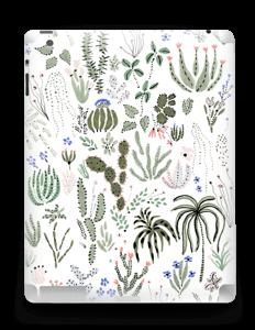 Jardin Cactus Skin IPad 4/3/2