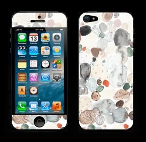 Abstracte Stenen  Skin IPhone 5