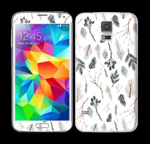 Pine Skin Galaxy S5