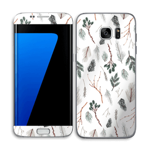 Pine Skin Galaxy S7 Edge