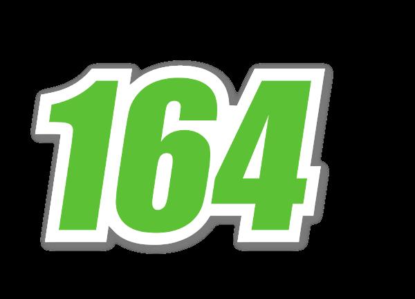 Racing 164  sticker