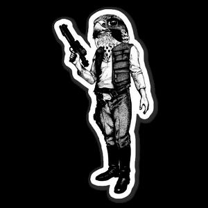 Hawk Solo sticker