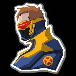 Cy76 sticker