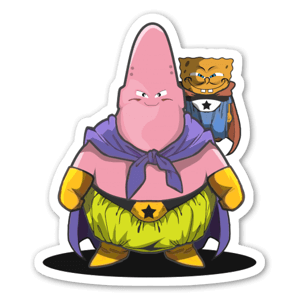 Sponge Buu  sticker