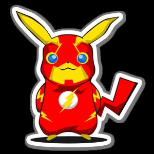 PikaFlash  sticker