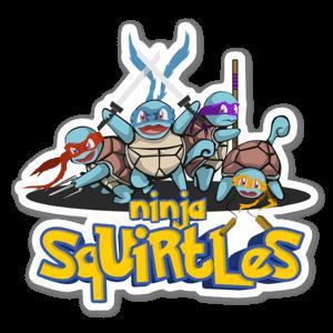 Ninja Squirtles  sticker