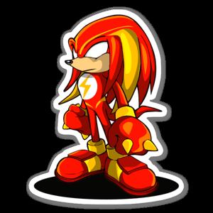 FlashMash Knucks  sticker