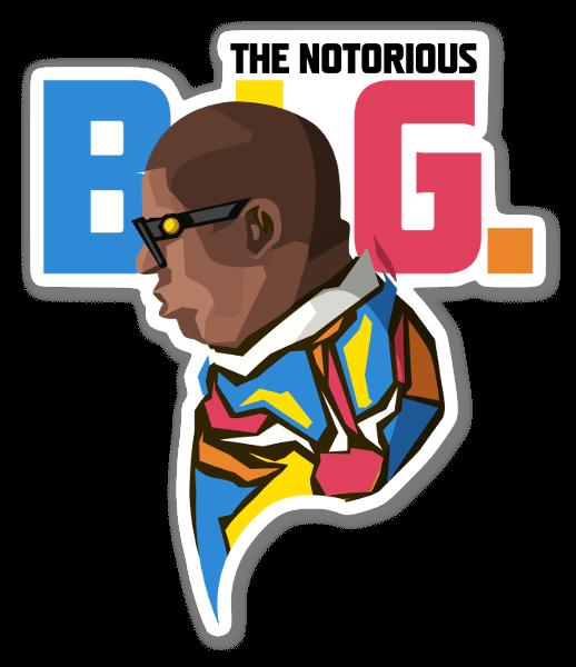 B.I.G. sticker