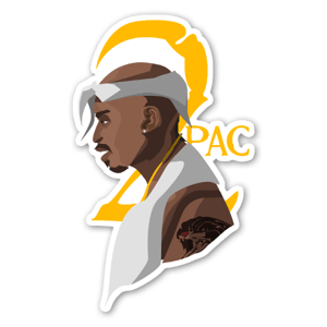 2pac sticker